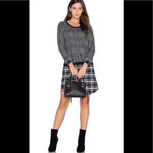 Soft Joie Dinah Plaid Shirt Dress